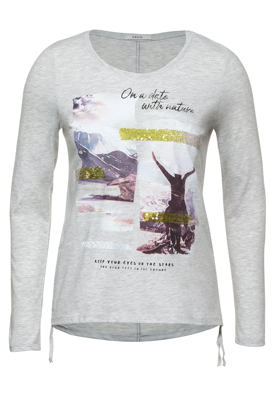 Cecil Shirt mit Fotoprint