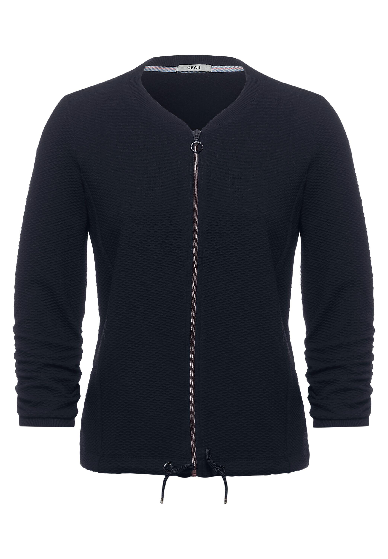 Cecil Sportive Shirtjacke in Uni