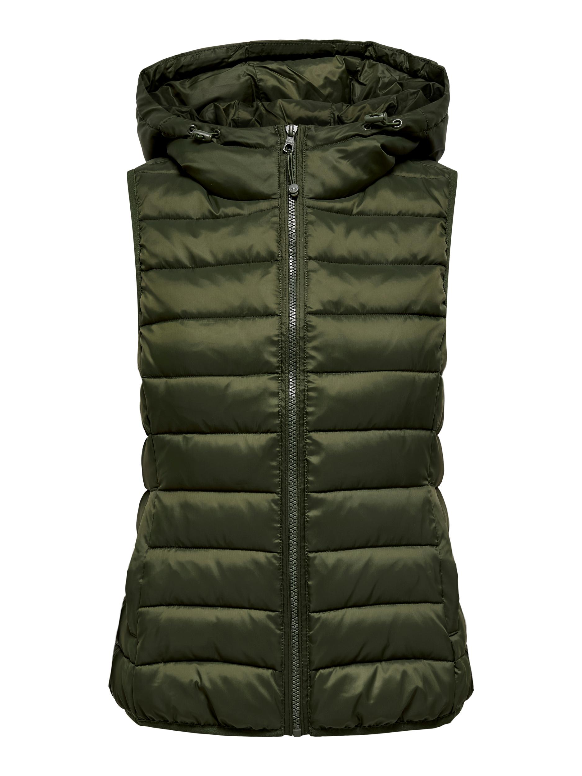 ONLY HOOD WAISTCOAT /Forest Night