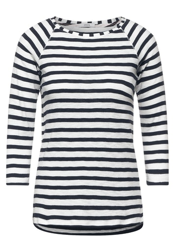 CECIL T-Shirt mit Streifen Muster