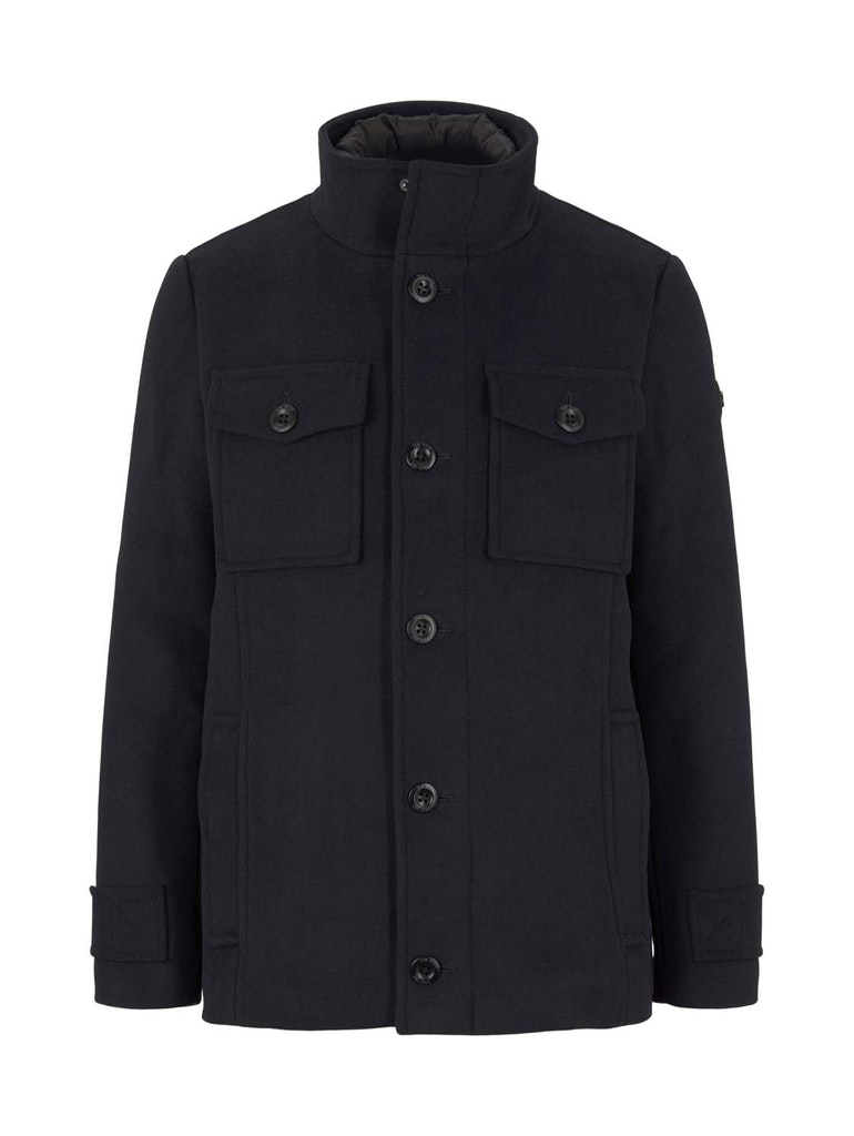 wool jacket 2 in 1, Sky Captain Blue