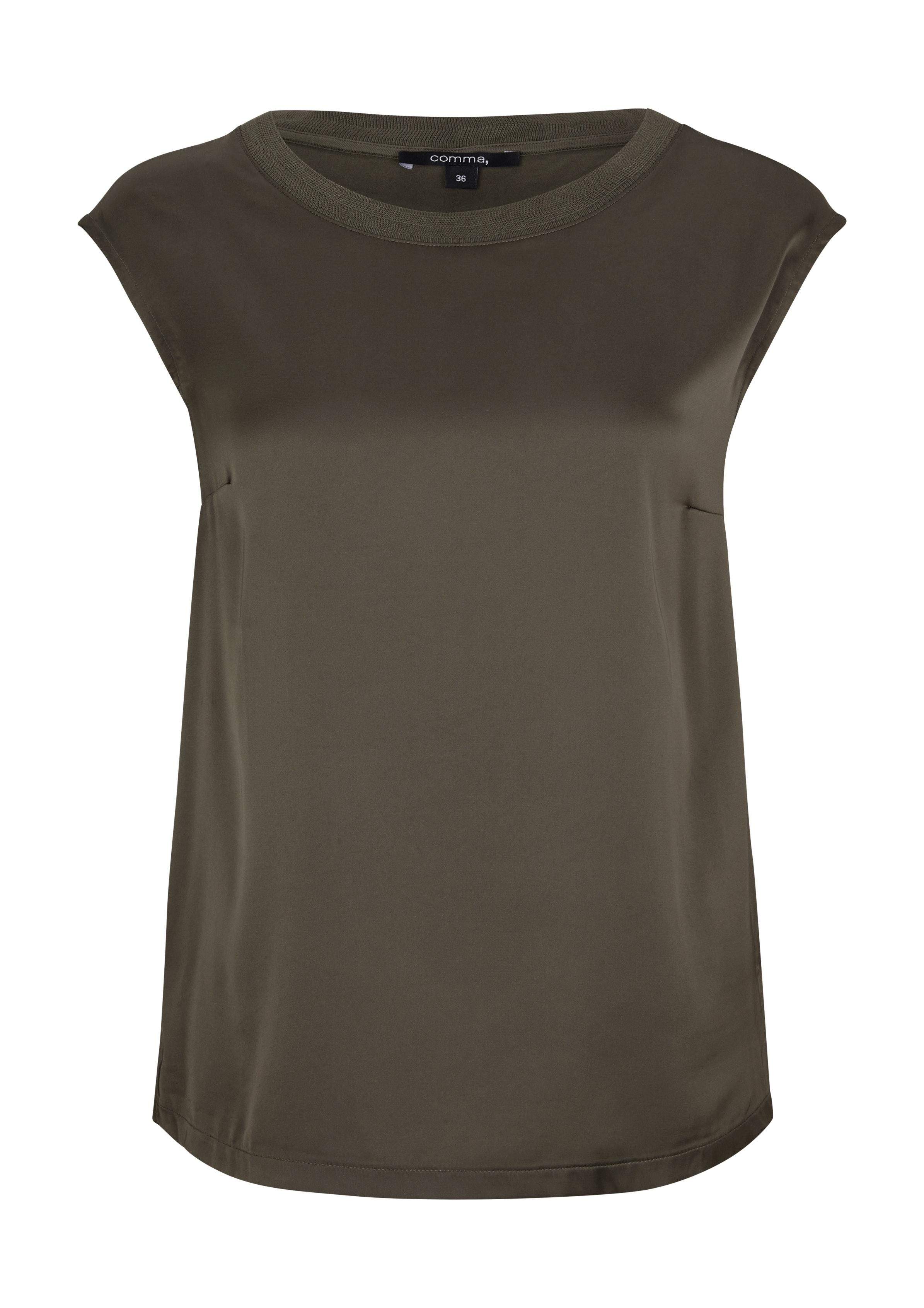 comma Fabric Mix-Shirt