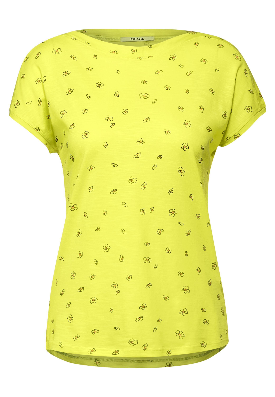 Cecil T-Shirt mit Minimal Print