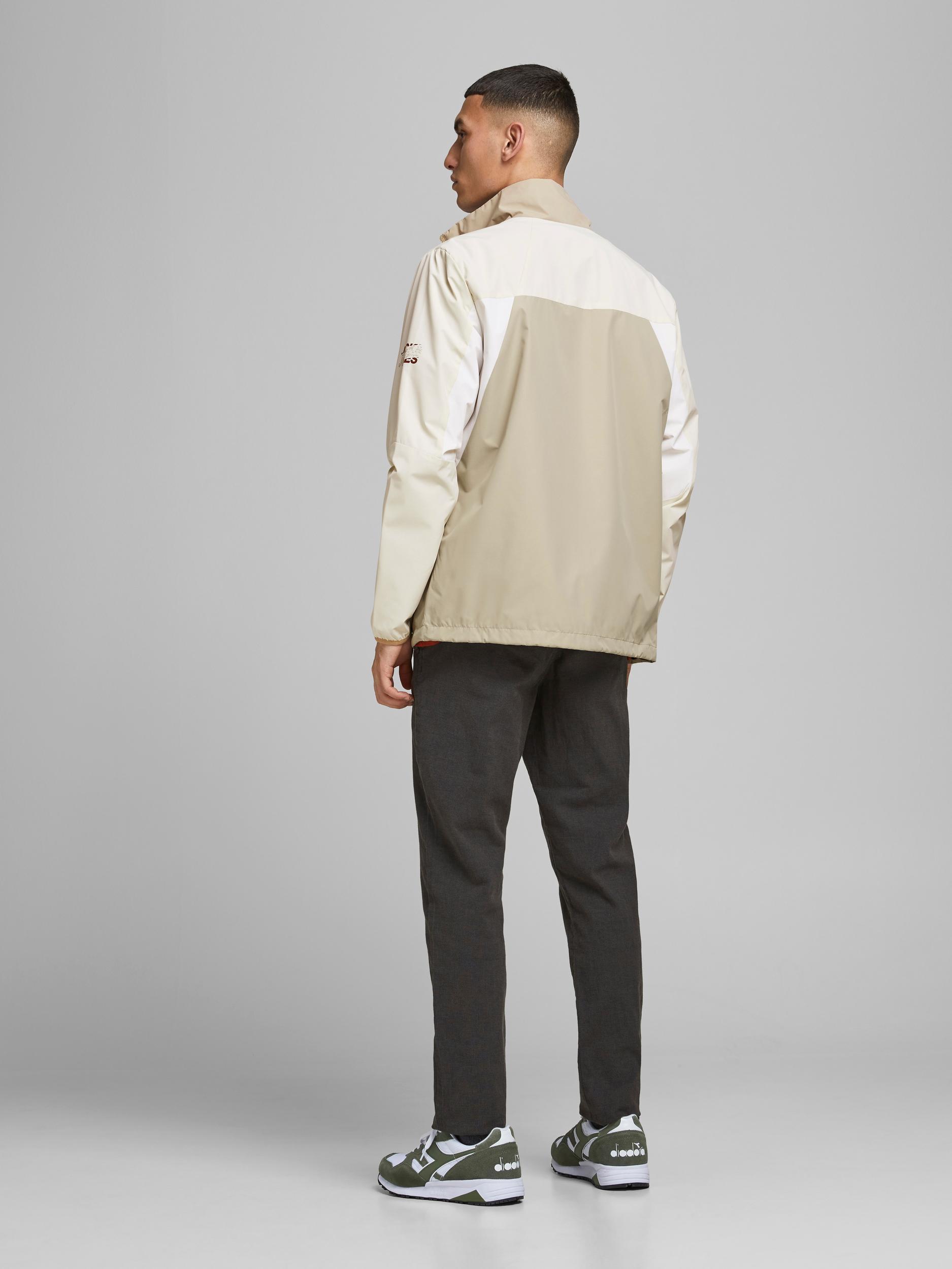 Jacke leicht collar