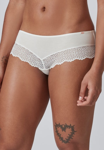 Skiny Damen Panty Every Day In Bamboo Lace