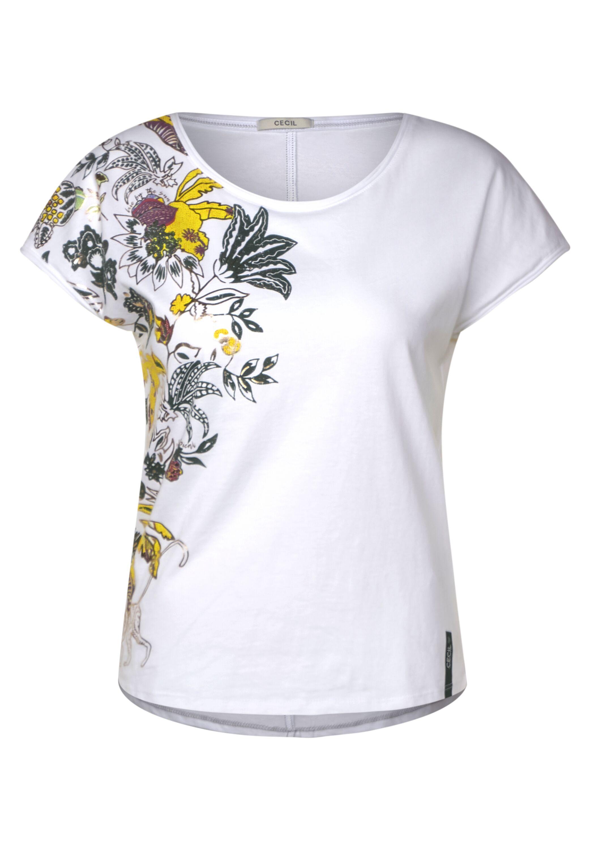 Cecil T-Shirt mit Blumenmuster