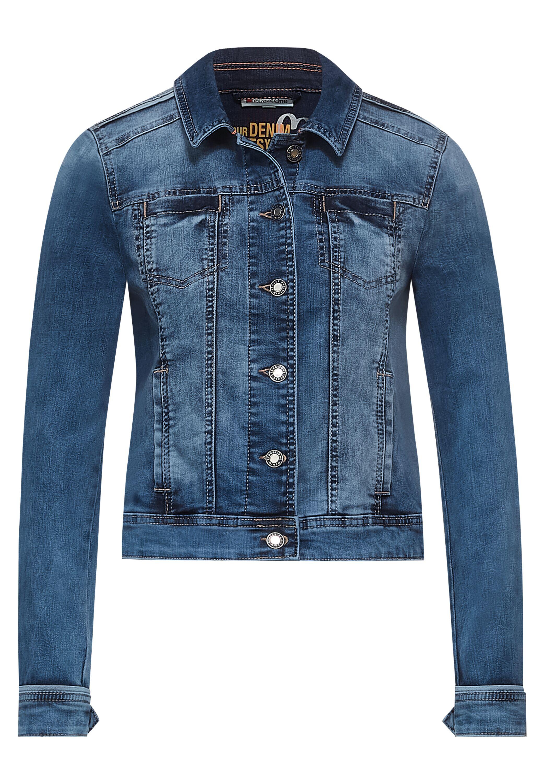 Indoor Jacke in Denim Style
